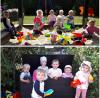 Vorschaubild der Meldung: Neue Spielzeugkiste auf dem Spielplatz, gespendet von der Krabbelgruppe