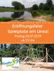 Vorschaubild der Meldung: Eröffnungsfeier - Spielplatz am Unsal in Hangelsberg