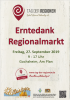 Vorschaubild der Meldung: Erntedank Regionalmarkt in Gochsheim