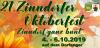 Vorschaubild der Meldung: Das 21. Zinndorfer Oktoberfest 2019 war Klasse! Dank für drei tolle Tage in Zinndorf.