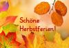 Vorschaubild der Meldung: Herbstferien