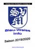 Vorschaubild der Meldung: Druckfrisch - Stadionzeitung Blau-Weiss-Info