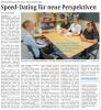 Vorschaubild der Meldung: Speeddating an der Anne-Frank-Realschule