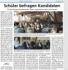 Vorschaubild der Meldung: Podiumsdiskussion zur Bürgermeisterwahl