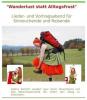 """Vorschaubild der Meldung: """"Wanderlust statt Alltagsfrust"""" - Sabine Kuhnert gibt auf ihrer Wanderung durch Deutschland ImpulsKonzerte zum Thema Entschleunigung, Achtsamkeit und Glück"""