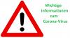 Vorschaubild der Meldung: Aktuelle Informationen Stand 15.03.2020 10:35Uhr