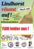 """Vorschaubild der Meldung: Müllsammelaktion """"Lindhorst räumt auf ....."""" abgesagt."""