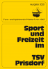 Vorschaubild der Meldung: TSV Informationszeitschrift 2020 da!