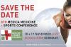 Vorschaubild der Meldung: Save-the-date: 8. MEDICA MEDICINE + SPORTS CONFERENCE 2020 in Düsseldorf