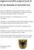 Vorschaubild der Meldung: Hygienevorschriften aufgrund von Covid 19 für den Badeplatz am Sennfelder See