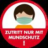Vorschaubild der Meldung: Maskenpflicht auf dem Schulgelände der PUS - auch auf dem Schulhof und auch bei Überquerung zum Beispiel mit dem Fahrrad