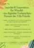 Impulse & Inspiration für Wandel – ein digitales Vorbeischau-Format der Villa Fohrde