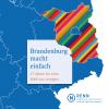 Vorschaubild der Meldung: Brandenburg macht einfach - Broschüre mit 17 Beispielen nachhaltiger Initiativen ist erschienen