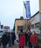"""Vorschaubild der Meldung: Die Gemeinde Nauheim beteiligte sich am internationalen Gedenk- und Aktionstag """"Nein zu Gewalt an Frauen"""""""