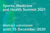 Die Abstract-Einreichung für den Sports, Medicine and Health Summit 2021 endet bald!
