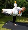 Gerrit Rehberg und sein Judo-Buddy
