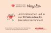 Deutschland bestimmt das Herzalter ist eine Initiative der Assmann-Stiftung für Prävention
