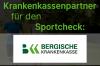 Die BERGISCHE KRANKENKASSE ist neuer Partner des Sportchecks!