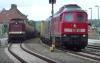 Rozbudowa kolei Berlin - Szczecin, 17.09.2021 w Tantowie, Niemcy