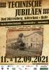 Vorschaubild der Meldung: Technische Jubiläen am 11. & 12.09.2021