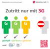 """Indoor-Sportbetrieb im TV Hude ab Mo. den 13. September nur noch unter Beachtung der """"3G-Regeln"""" möglich"""