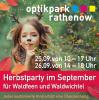 """Foto zur Veranstaltung """"Herbstparty im September"""" Optikpark"""