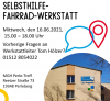 Abbildung Plakat zur Selbsthilfe-Fahrrad-Werkstatt