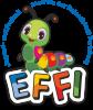 """Logo: Jugendd- und Freizeitzentrum   Die kleine Raupe """"EFFI"""""""